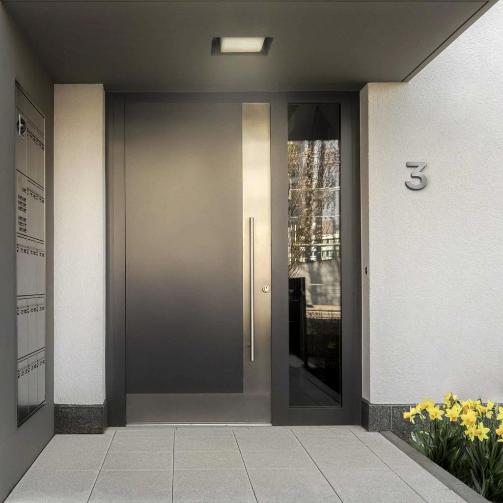 4 Tipps zur neuen Edelstahl Hausnummer 4