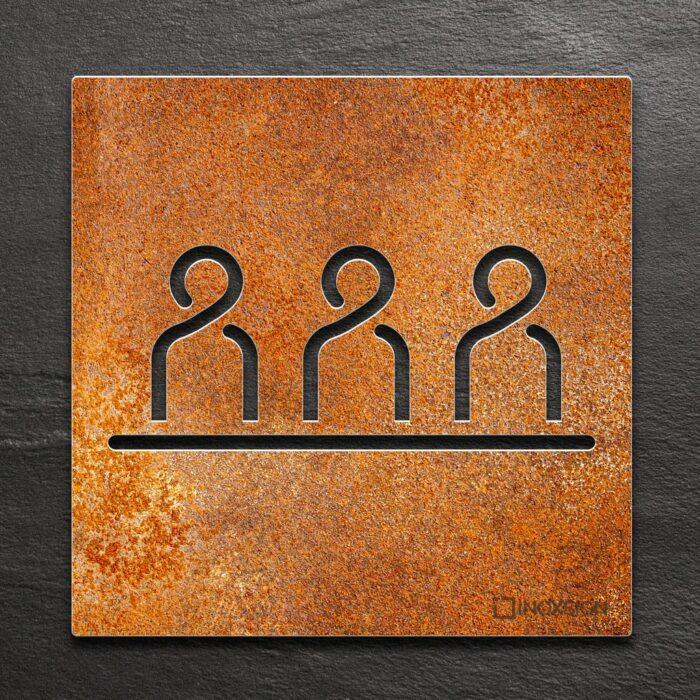 """Vintage Schild """"Besprechungsraum"""" / M.02.R 1"""