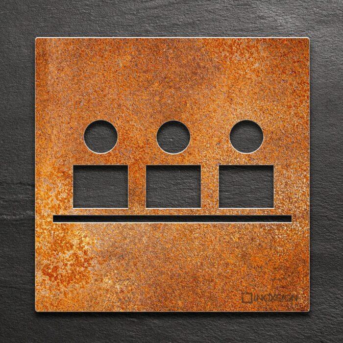 """Vintage Schild """"Besprechungsraum"""" / M.03.R 1"""