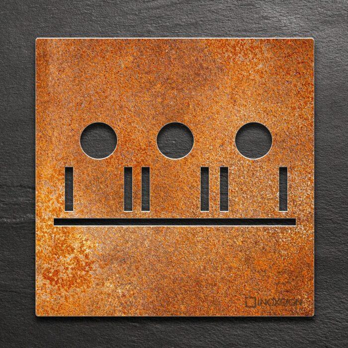 """Vintage Schild """"Besprechungsraum"""" / M.05.R 1"""