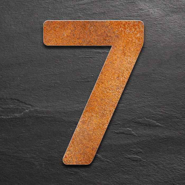 """Vintage Hausnummer 7 """"Essence"""" / N.07.R 1"""