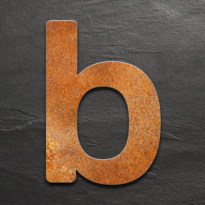 "Vintage Hausnummer b ""Essence"" / N.12.R 1"