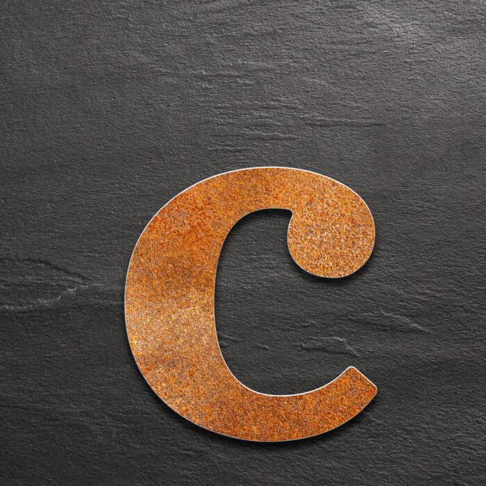 """Vintage Hausnummer c """"Classic"""" / N.33.R 1"""