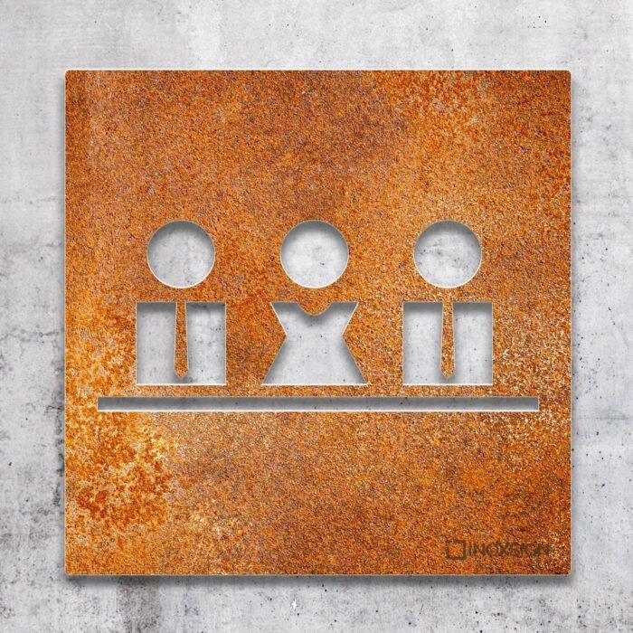 """Vintage Schild """"Besprechungsraum"""" / M.01.R 2"""