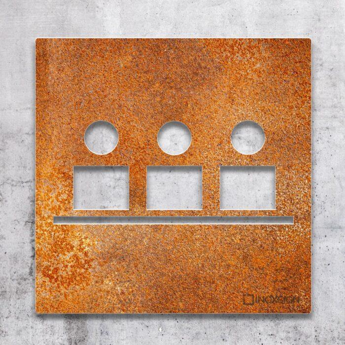 """Vintage Schild """"Besprechungsraum"""" / M.03.R 2"""