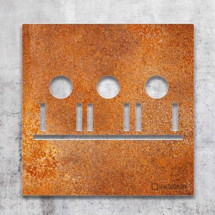 """Vintage Schild """"Besprechungsraum"""" / M.05.R 2"""