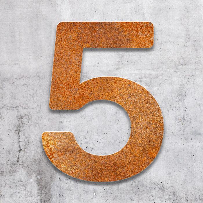 """Vintage Hausnummer 5 """"Essence"""" / N.05.R 2"""