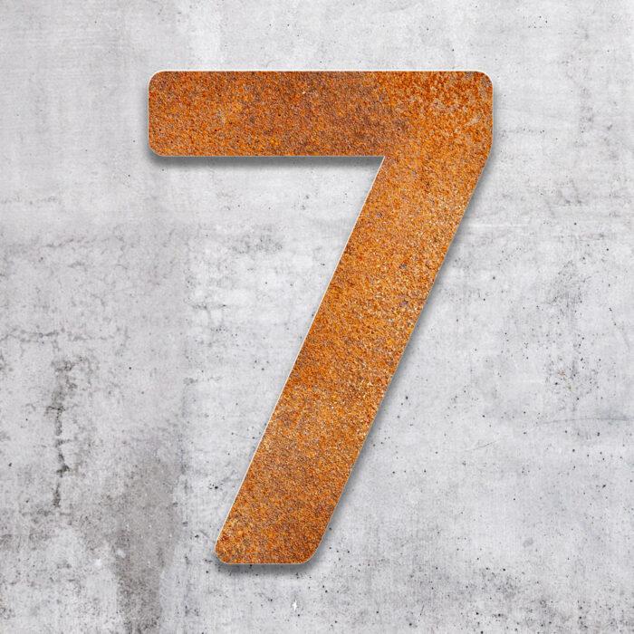 """Vintage Hausnummer 7 """"Essence"""" / N.07.R 2"""
