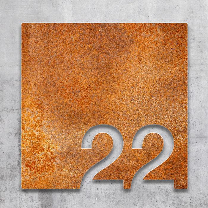Vintage Zimmernummer 22 / Z.03.022.R 2