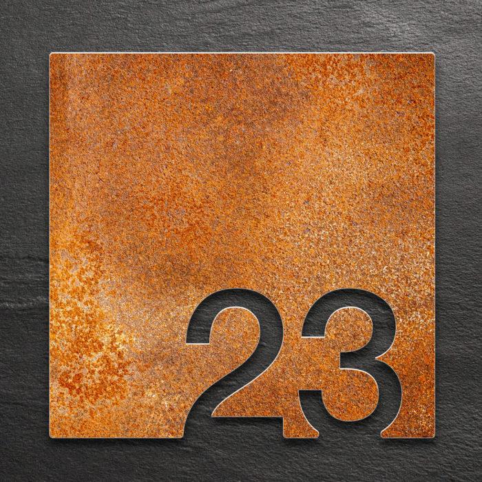 Vintage Zimmernummer 23 / Z.03.023.R 1