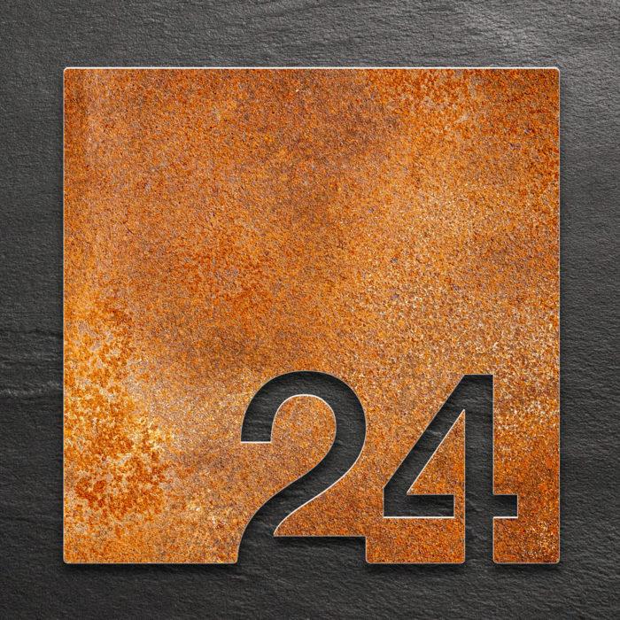 Vintage Zimmernummer 24 / Z.03.024.R 1