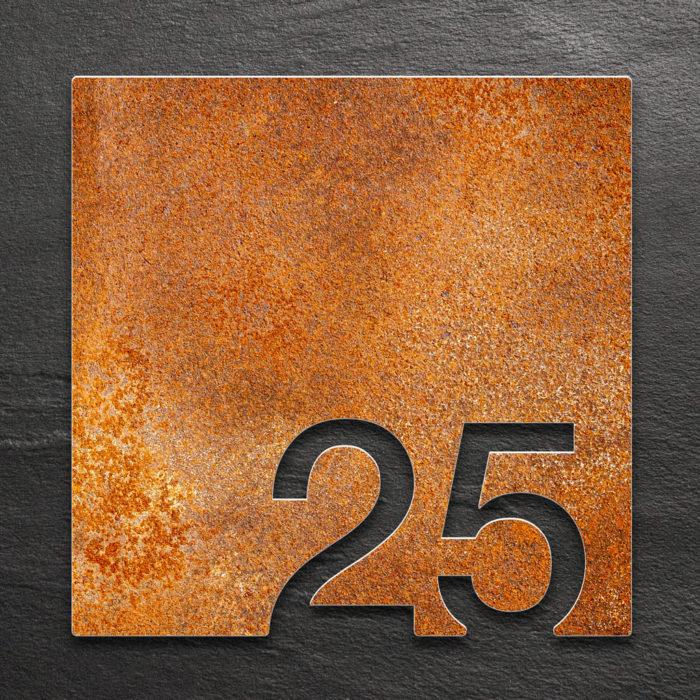 Vintage Zimmernummer 25 / Z.03.025.R 1