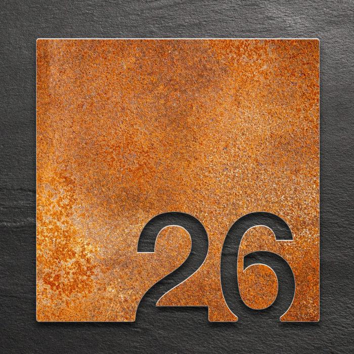 Vintage Zimmernummer 26 / Z.03.026.R 1