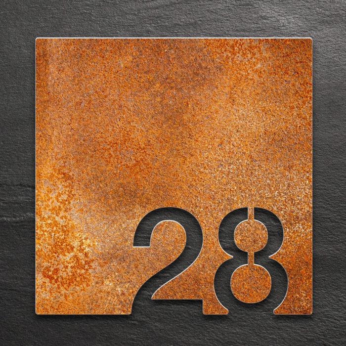 Vintage Zimmernummer 28 / Z.03.028.R 1