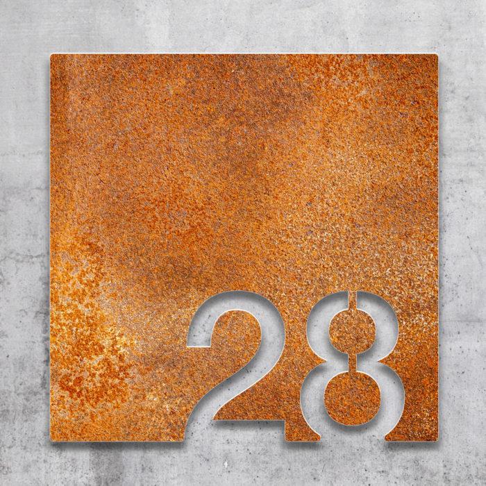 Vintage Zimmernummer 28 / Z.03.028.R 2