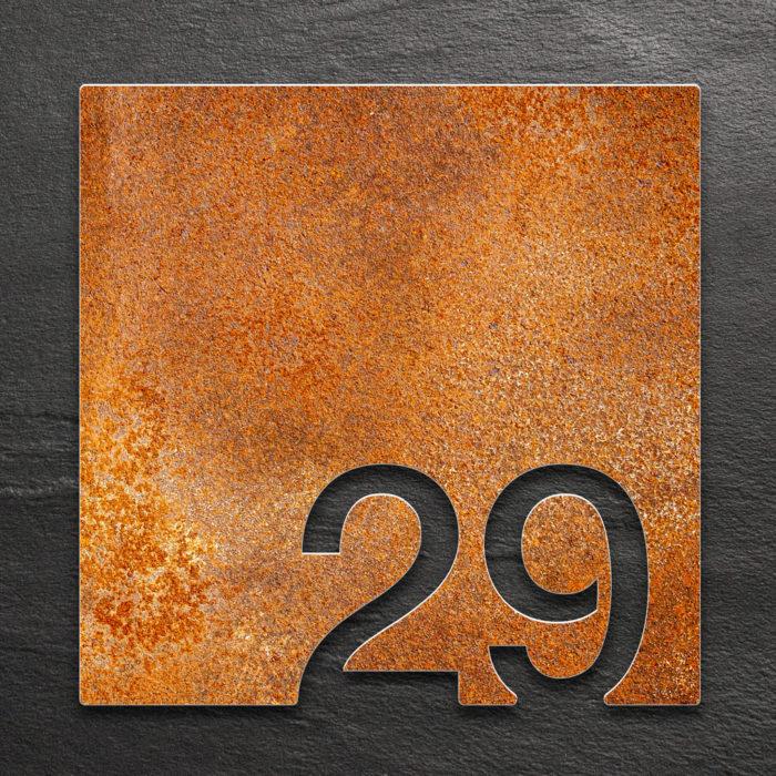 Vintage Zimmernummer 29 / Z.03.029.R 1