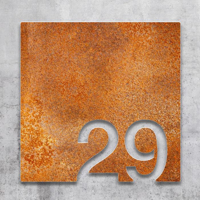Vintage Zimmernummer 29 / Z.03.029.R 2