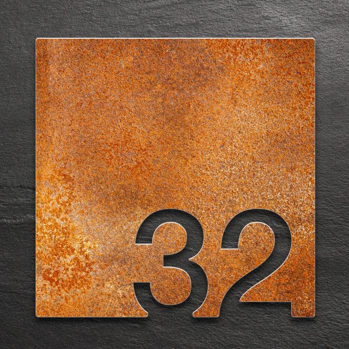 Vintage Zimmernummer 32 / Z.03.032.R 1