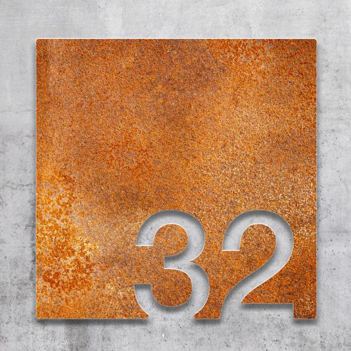 Vintage Zimmernummer 32 / Z.03.032.R 2