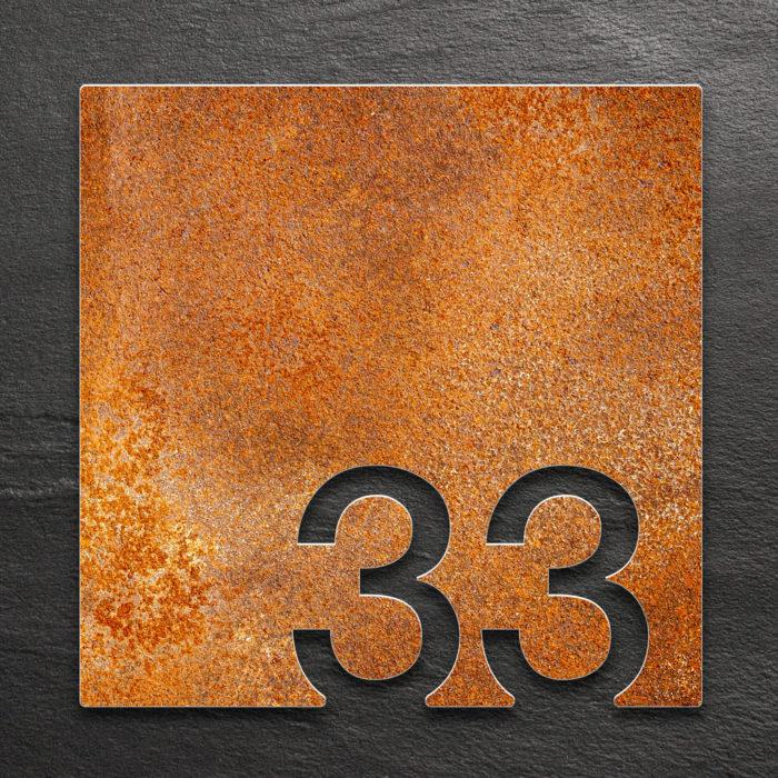 Vintage Zimmernummer 33 / Z.03.033.R 1