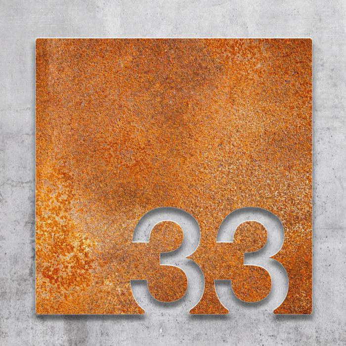 Vintage Zimmernummer 33 / Z.03.033.R 2