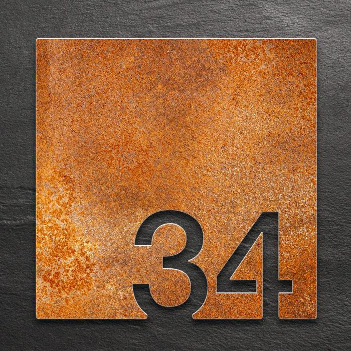 Vintage Zimmernummer 34 / Z.03.034.R 1