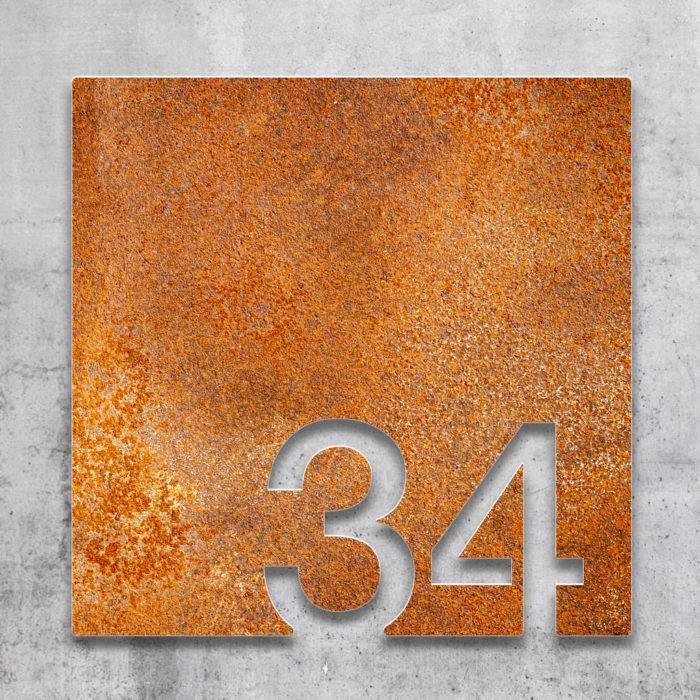 Vintage Zimmernummer 34 / Z.03.034.R 2