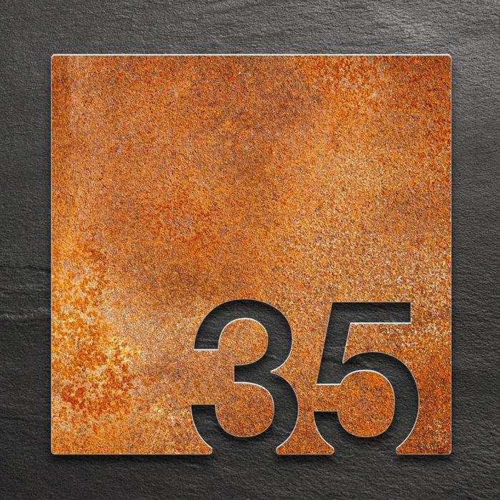 Vintage Zimmernummer 35 / Z.03.035.R 1