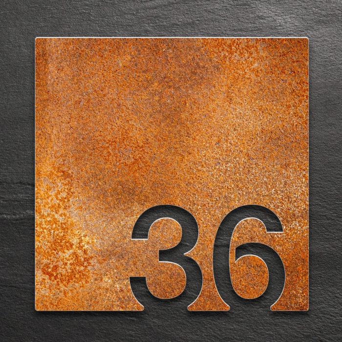 Vintage Zimmernummer 36 / Z.03.036.R 1
