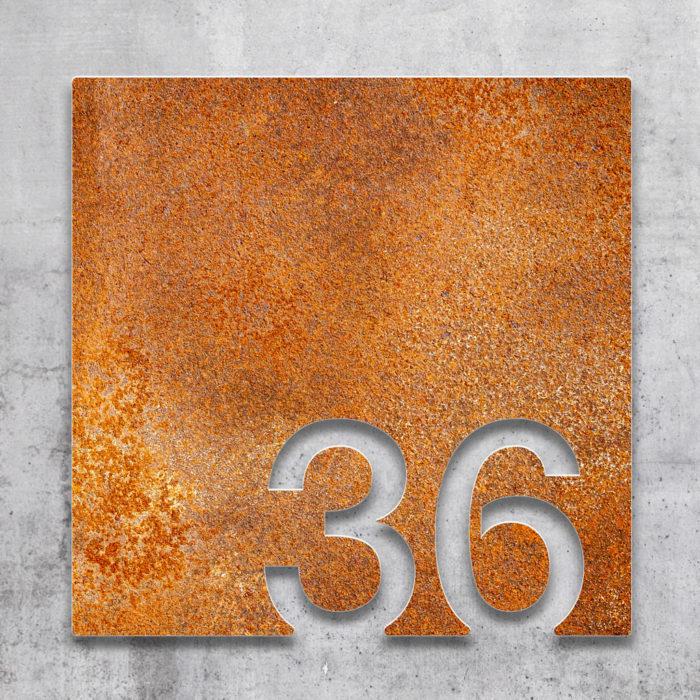 Vintage Zimmernummer 36 / Z.03.036.R 2