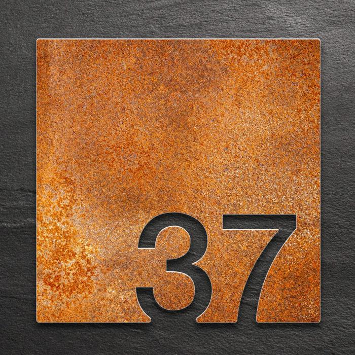 Vintage Zimmernummer 37 / Z.03.037.R 1