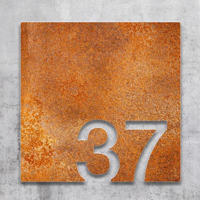Vintage Zimmernummer 37 / Z.03.037.R 2