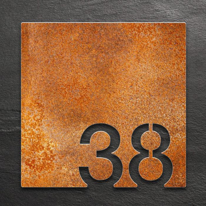 Vintage Zimmernummer 38 / Z.03.038.R 1