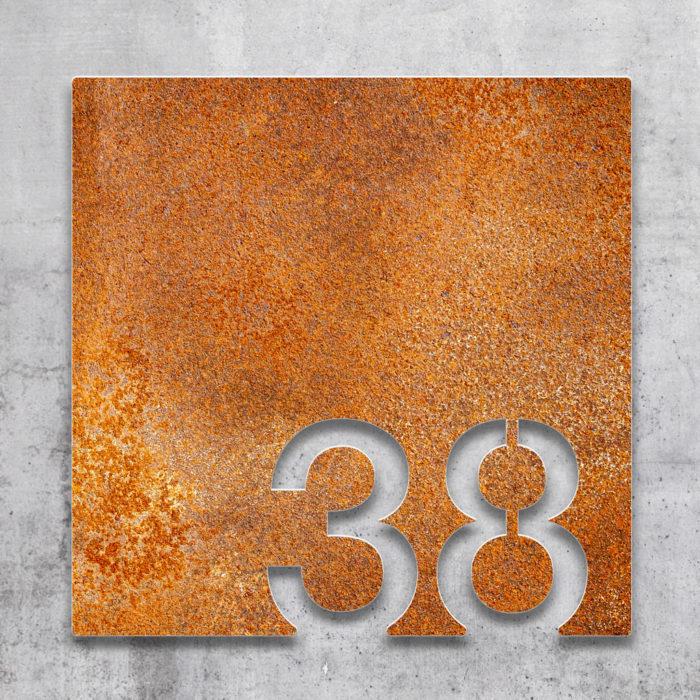 Vintage Zimmernummer 38 / Z.03.038.R 2