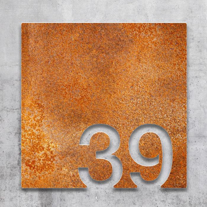 Vintage Zimmernummer 39 / Z.03.039.R 2