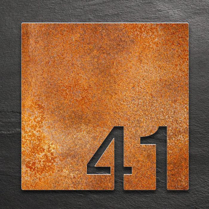 Vintage Zimmernummer 41 / Z.03.041.R 1