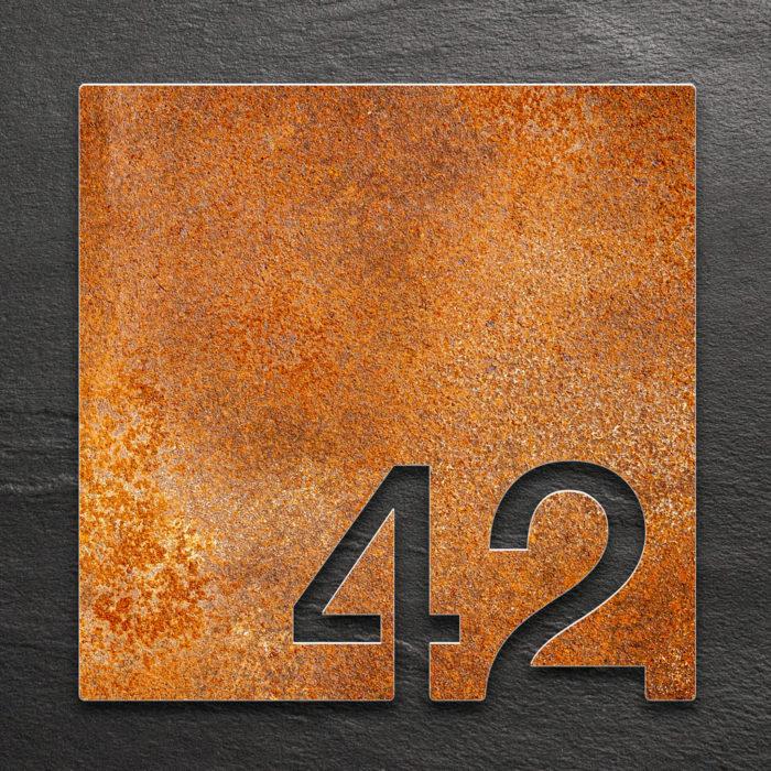 Vintage Zimmernummer 42 / Z.03.042.R 1