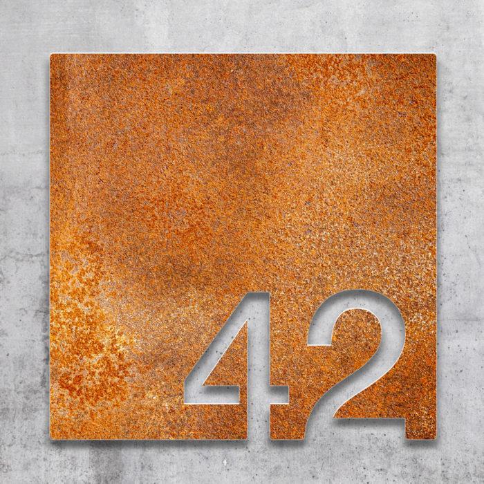 Vintage Zimmernummer 42 / Z.03.042.R 2