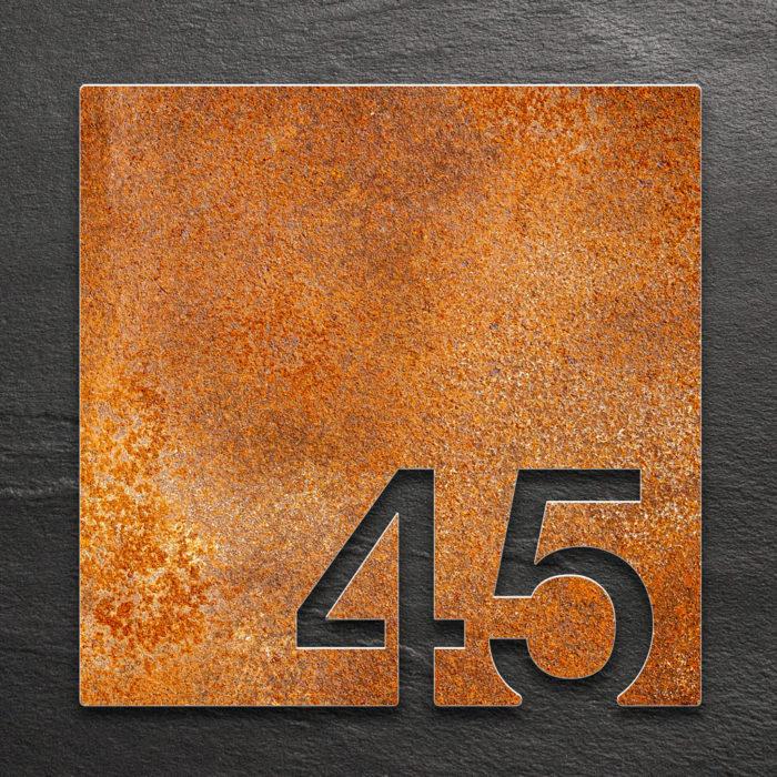 Vintage Zimmernummer 45 / Z.03.045.R 1