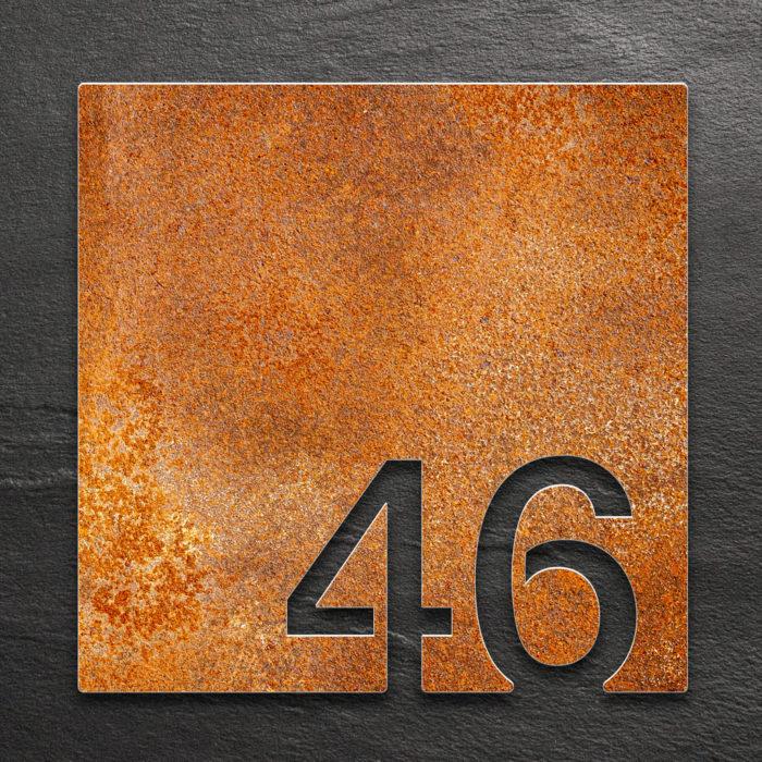 Vintage Zimmernummer 46 / Z.03.046.R 1