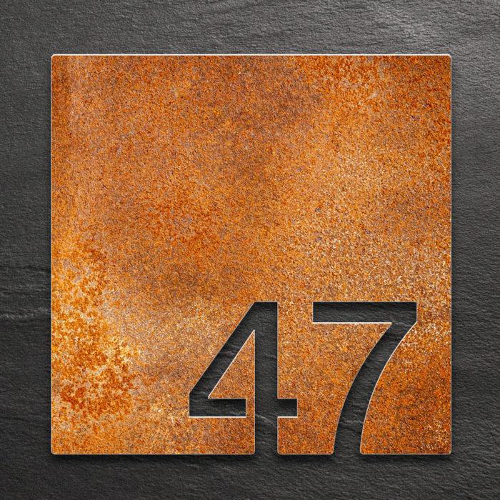 Vintage Zimmernummer 47 / Z.03.047.R 1