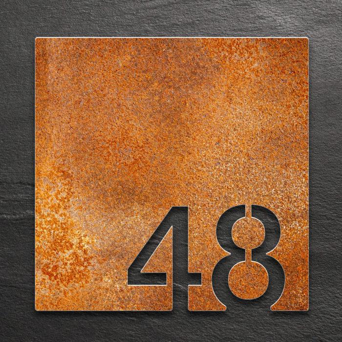 Vintage Zimmernummer 48 / Z.03.048.R 1