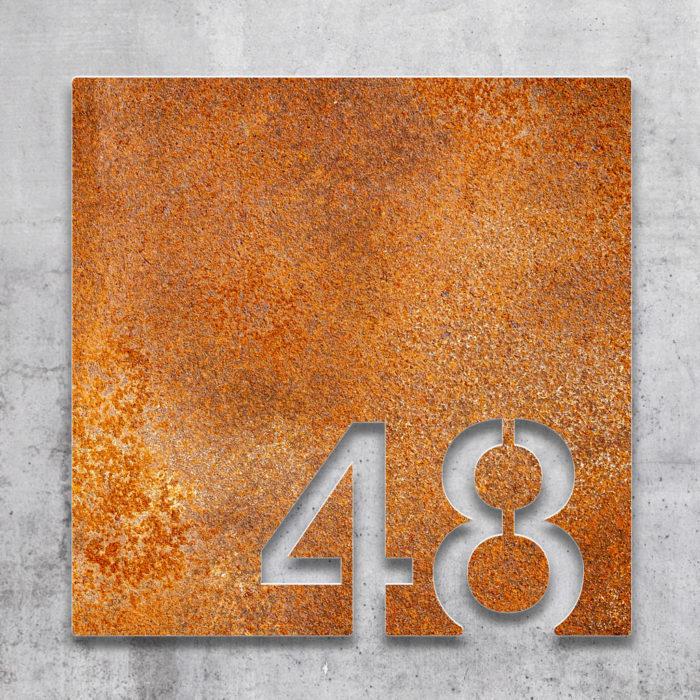Vintage Zimmernummer 48 / Z.03.048.R 2