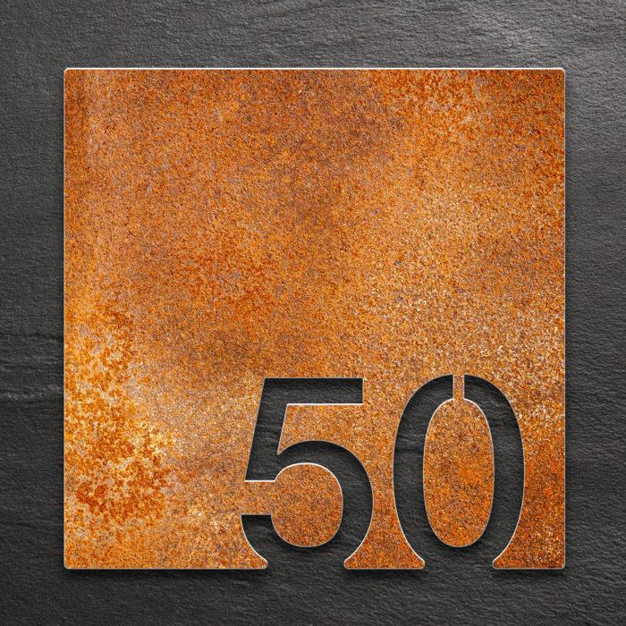 Vintage Zimmernummer 50 / Z.03.050.R 1