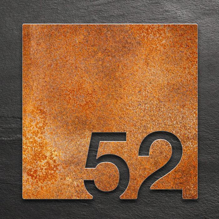 Vintage Zimmernummer 52 / Z.03.052.R 1