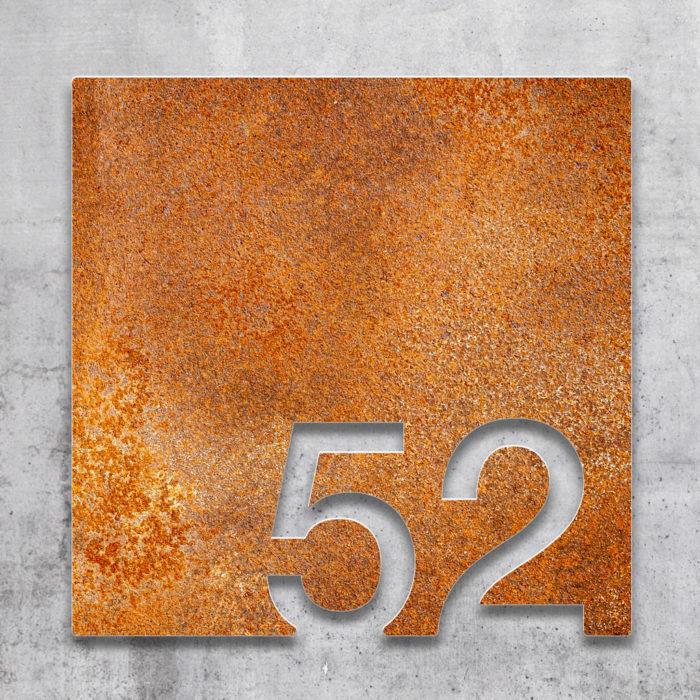 Vintage Zimmernummer 52 / Z.03.052.R 2