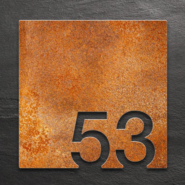 Vintage Zimmernummer 53 / Z.03.053.R 1