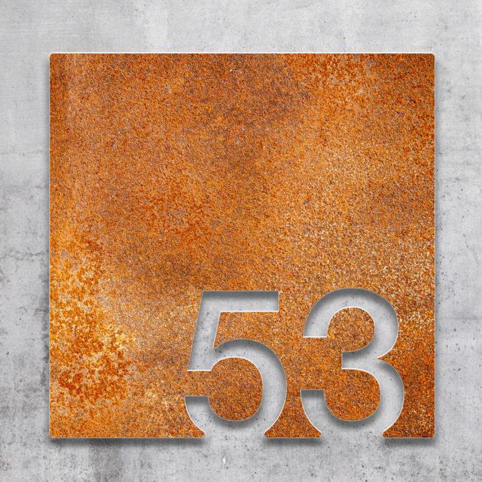 Vintage Zimmernummer 53 / Z.03.053.R 2