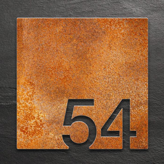 Vintage Zimmernummer 54 / Z.03.054.R 1
