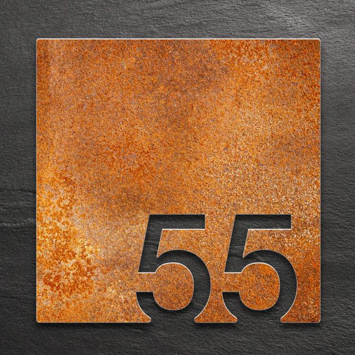 Vintage Zimmernummer 55 / Z.03.055.R 1